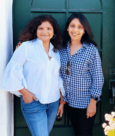 Ruchi and Purvi, owners of theDogHood app